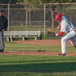 Chris Walters during an IBL game at Bernie Arbour Stadium on June 13, 2014